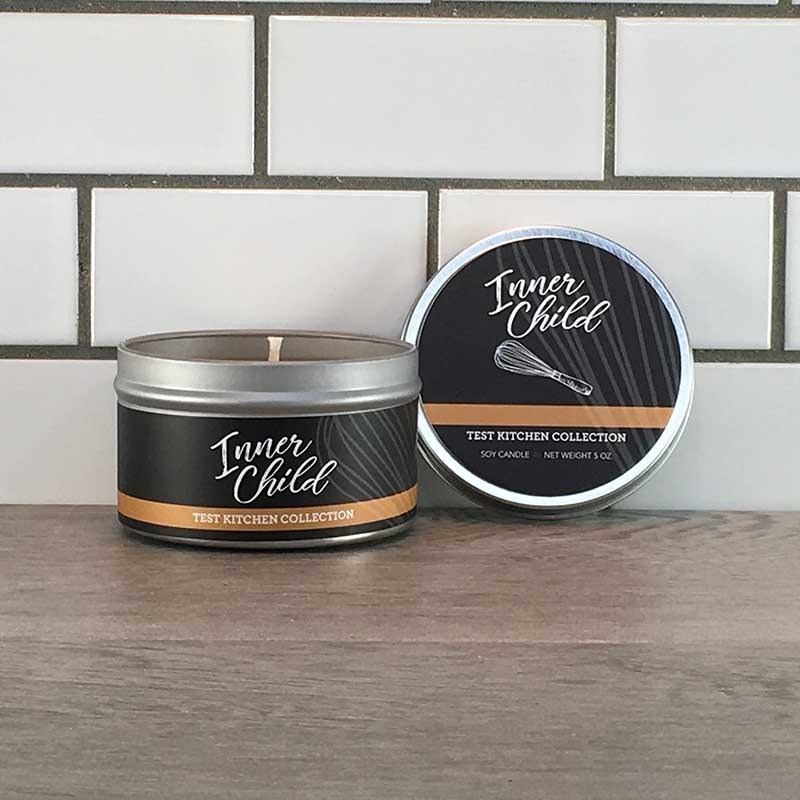 Seasonal Scented Soy Wax Candle in Tin